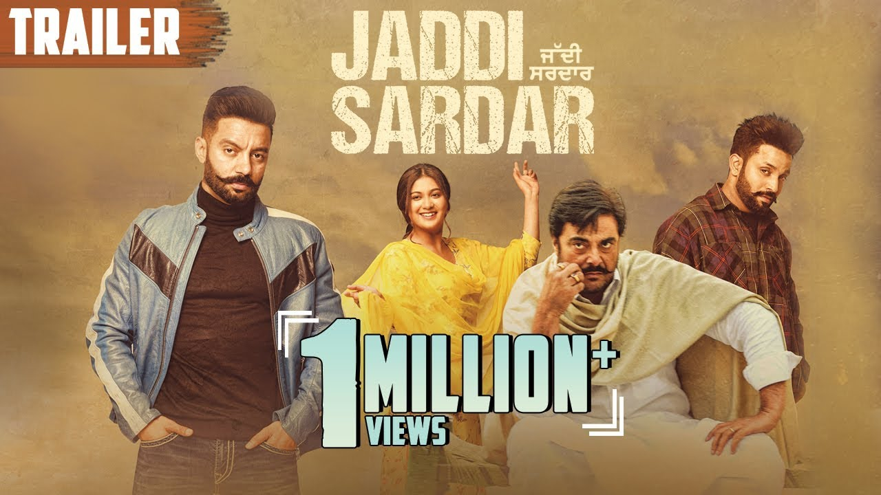 Jaddi Sardar Punjabi Movie Poster