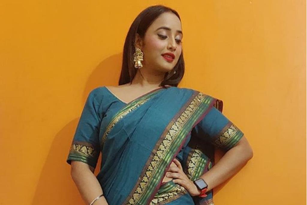 Rani Chatterjee Saree Photo